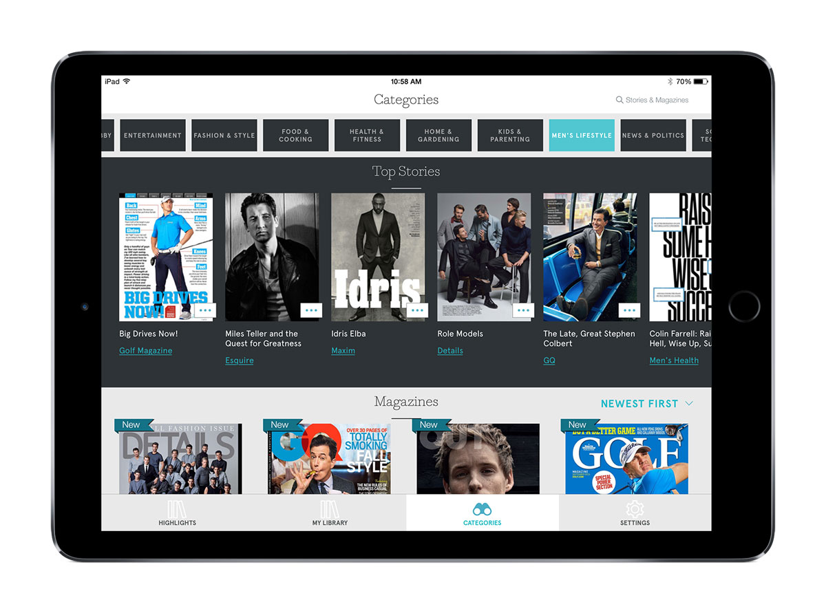 Next Issue, the Netflix for magazines, reborn with a fresh design and new name