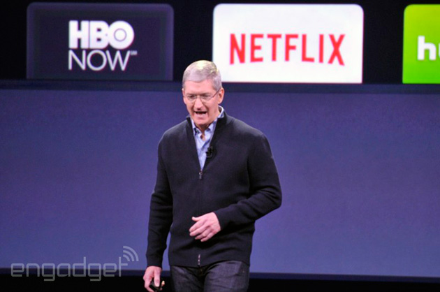 Tim Cook talks about the Apple TV