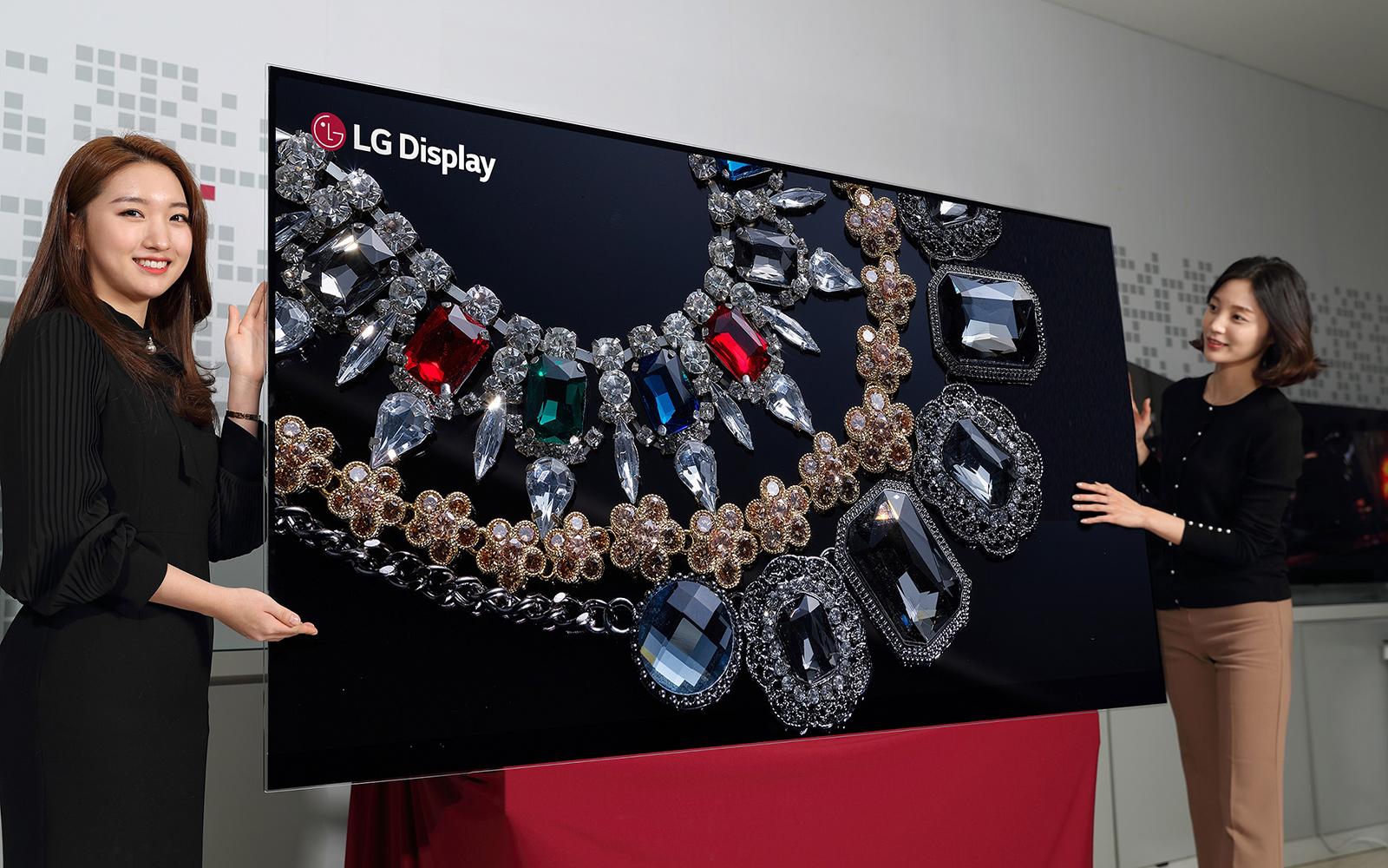 LG sigue demostrando que es el rey OLED con su nueva pantalla de 88 pulgadas 8K