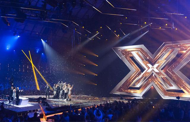 X Factor studio