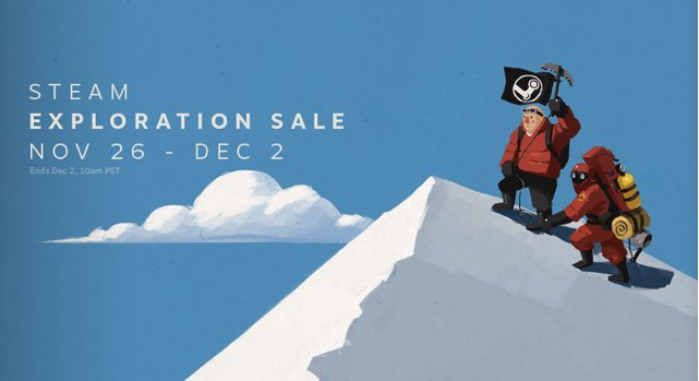 The Steam Exploration Sale is here, and it's come for your wallet