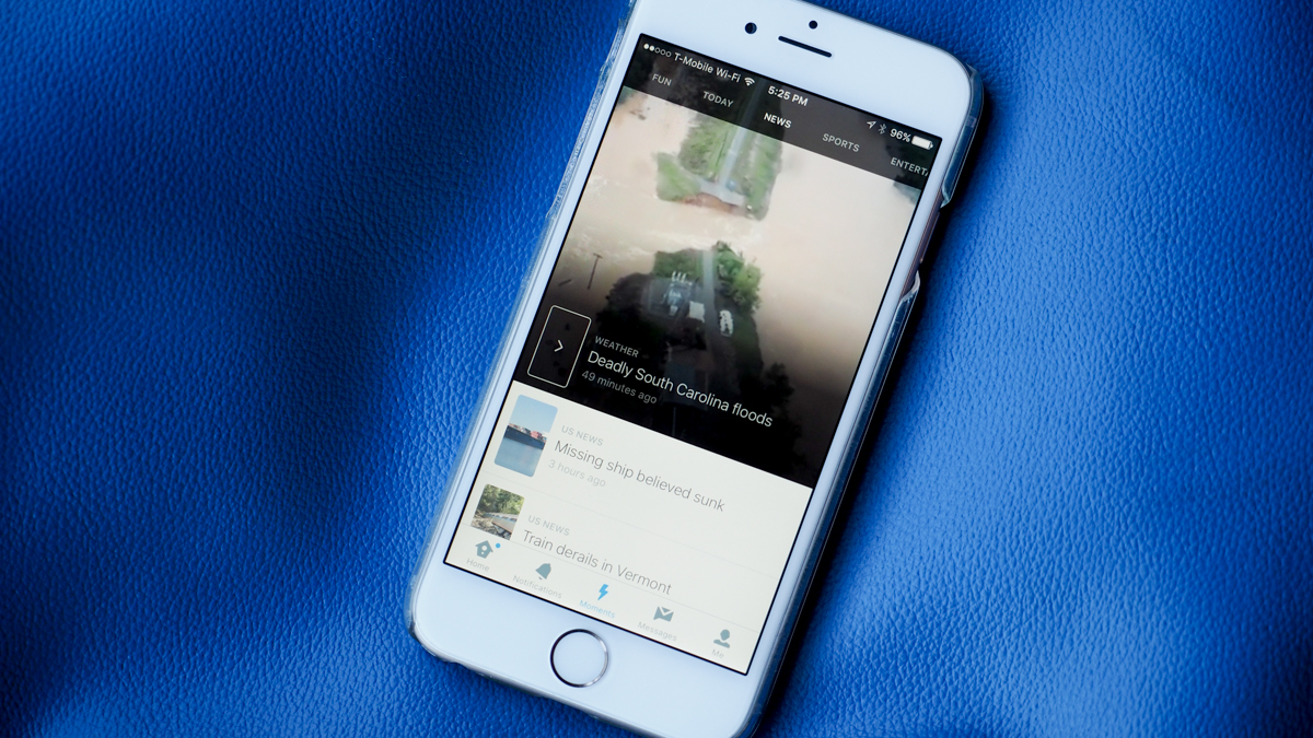 Twitter's curated Moments slows down the newsfeed for new users