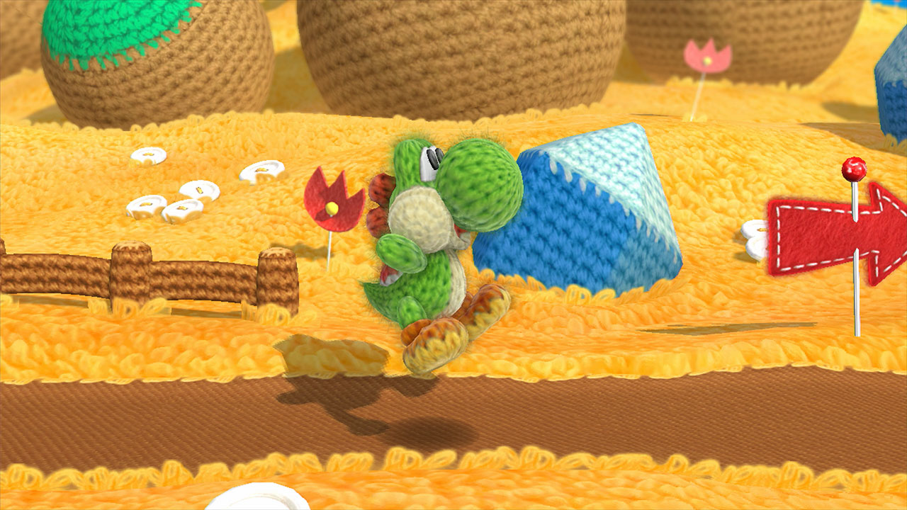 Unravelling Yoshi's Woolly World