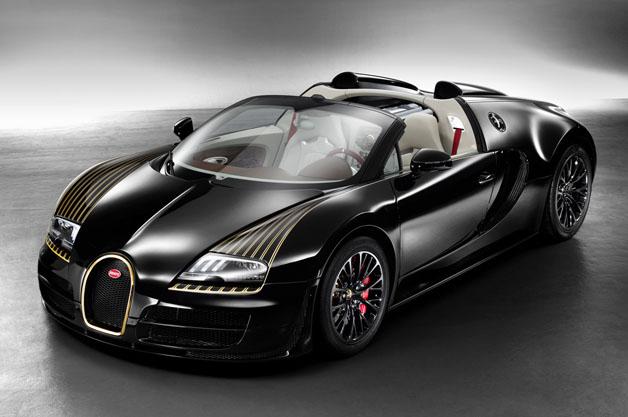 Bugatti Veyron Vitesse Black Bess