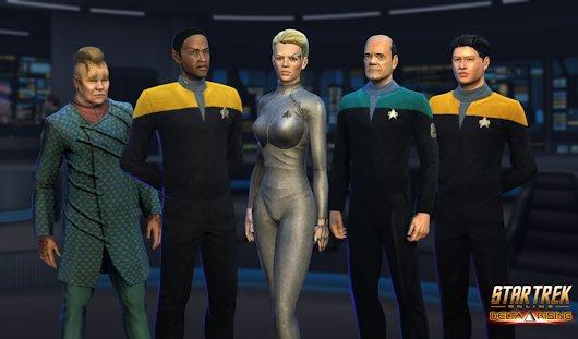 Star Trek Online announces more Voyager cast members in Delta Rising