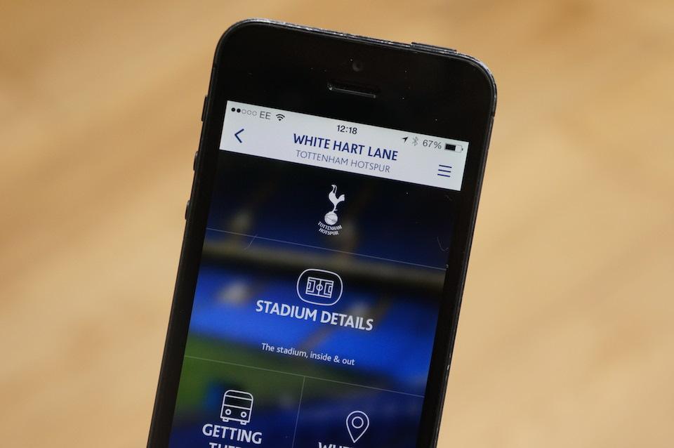 Premier League iOS Away Days App