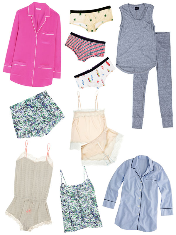 These cute summer pajamas sure beat your old sweats