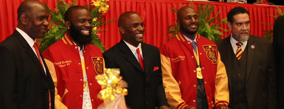 Inducted into the Tuskegee University Sports Hall of Fame 2009