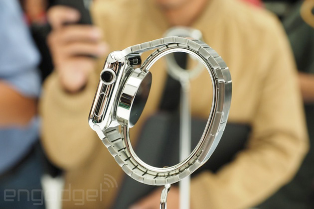 Apple Watch from the side