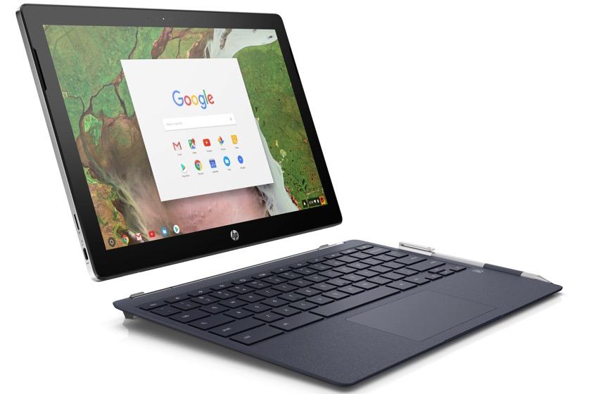 HP stellt Chromebook X2 mit Intel Core m3-7y30 vor