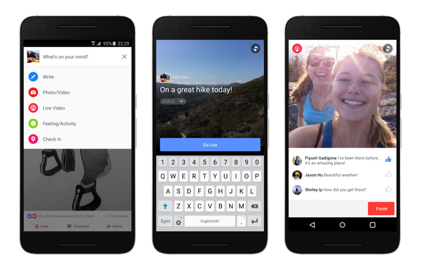 Facebook Live Video Coming To Android