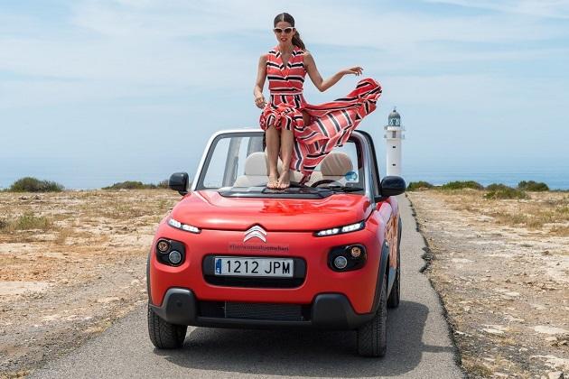 シトロエン、スペインのリゾート島に電動ビーチカー「Eメアリ」を寄贈