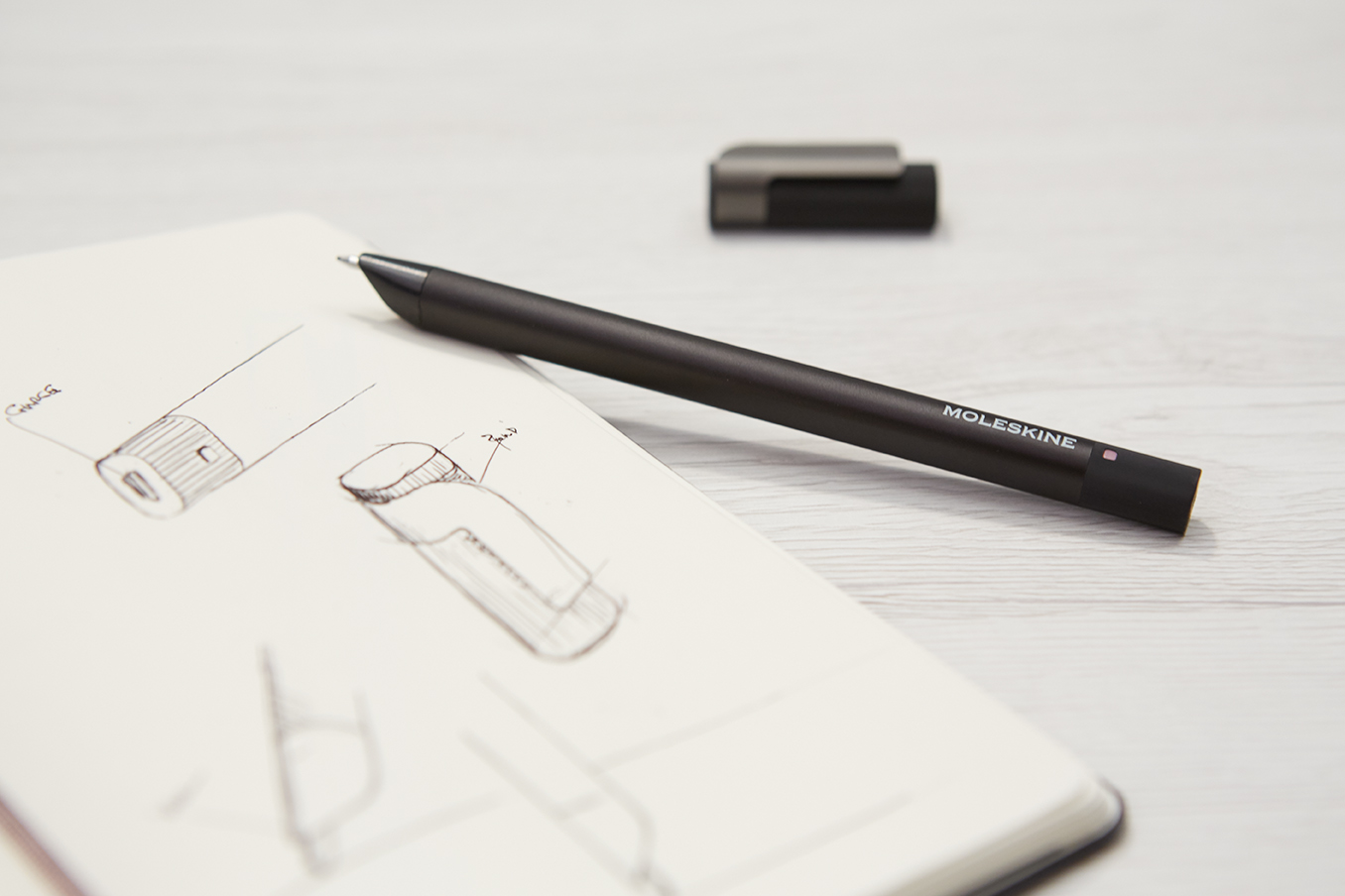 Moleskines latest smart pen saves your writing to download later