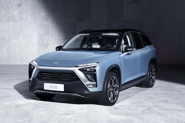 中国の電気自動車メーカーNIOが、電動クロスオーバー「ES8」を発表! バッテリーは交換式で航続距離355km