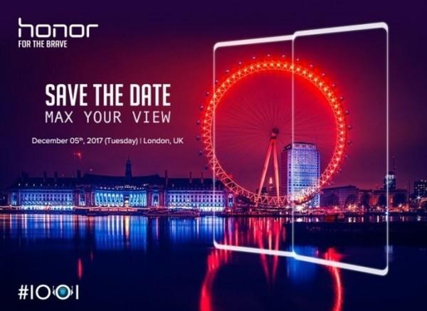 Honor V10 soll am 5. Dezember vorgestellt werden