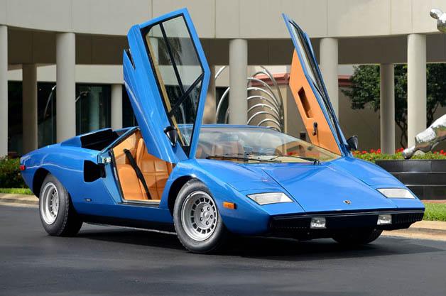 初期型ランボルギーニ「カウンタック Lp400」が1億2 000万円で落札! Autoblog 日本版