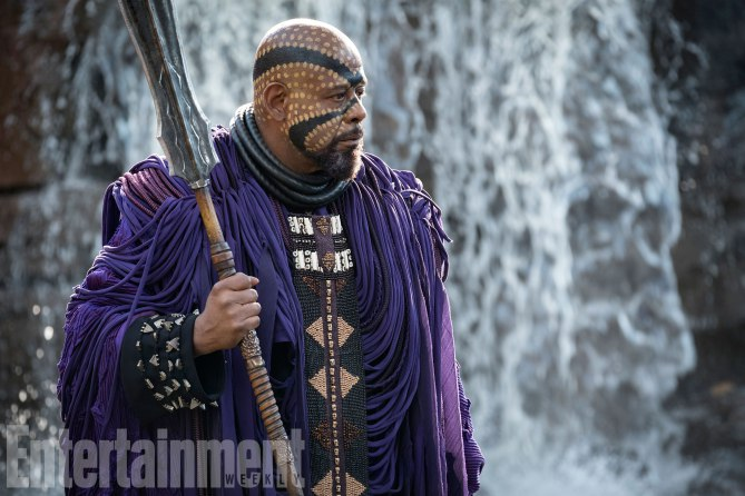 Marvel Studios' BLACK PANTHER<br /> Zuri (Forest Whitaker)<br /><br /> Credit: Matt Kennedy/©Marvel Studios 2018