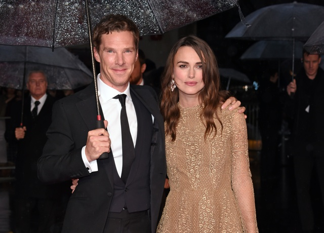 Keira Knightley at The Imitation Game premiere at BFI Film Festival