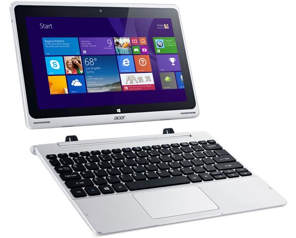 laptop tablet hybrid acer aspire switch 10 kommt mit. Black Bedroom Furniture Sets. Home Design Ideas