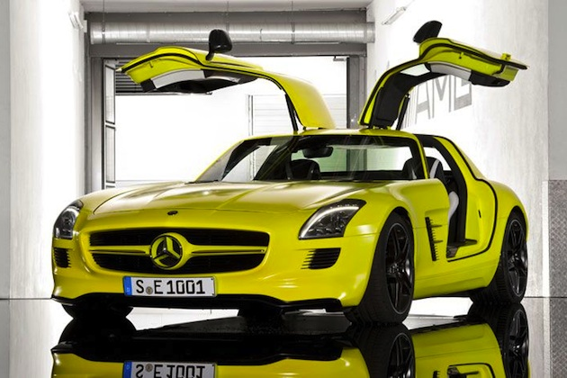 【レポート】メルセデス・ベンツ、テスラに挑む航続距離500kmの電気自動車を開発中