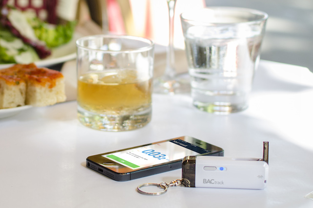 BACtrack Vio pocket breathalyzer