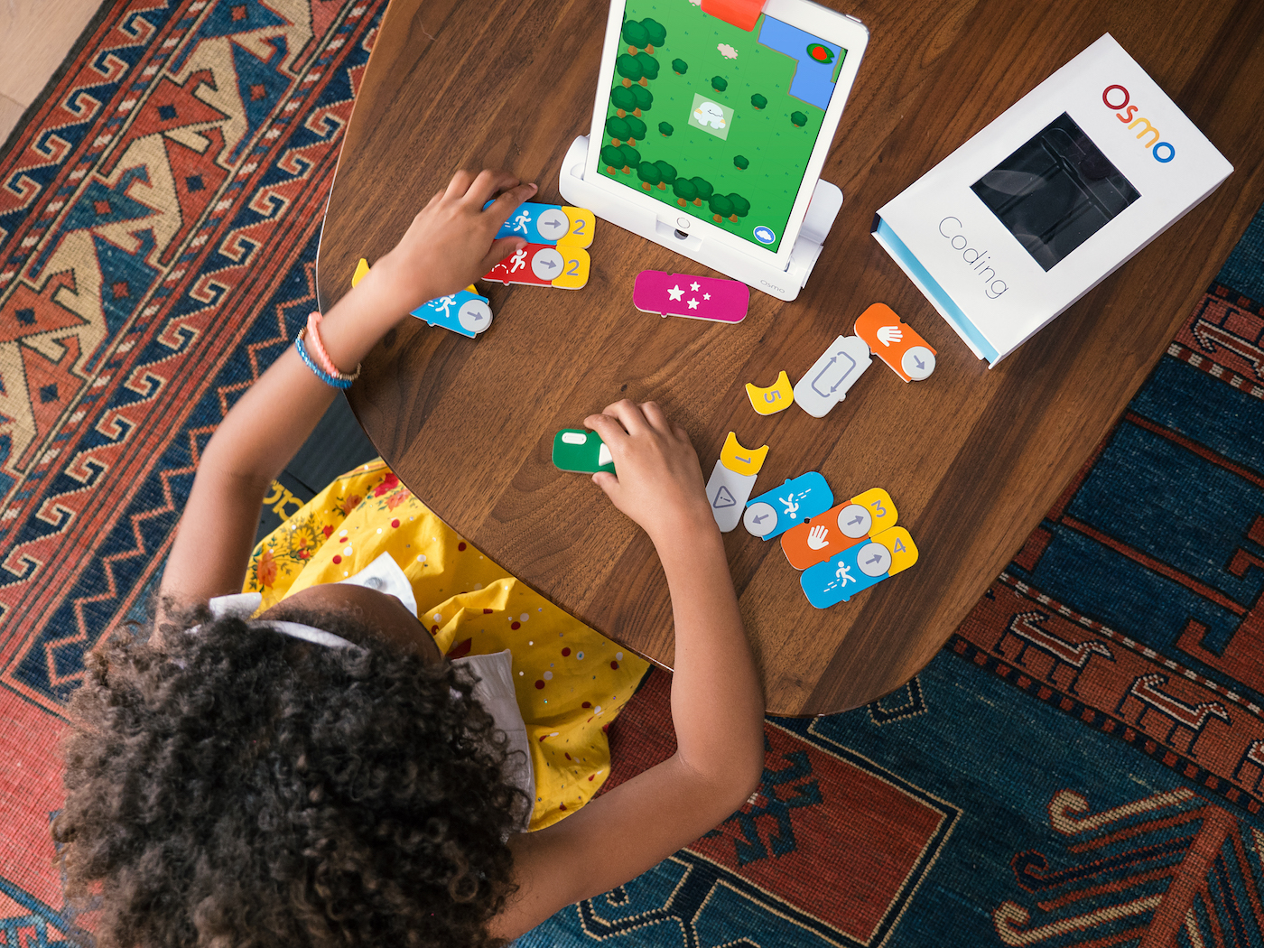 Osmo's blocks are like Lego for coding