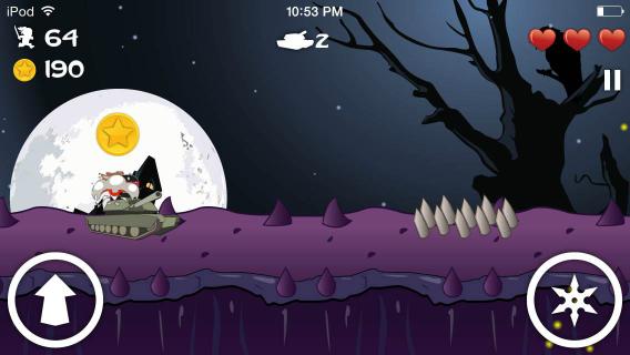 Ninja Bunny screenshot