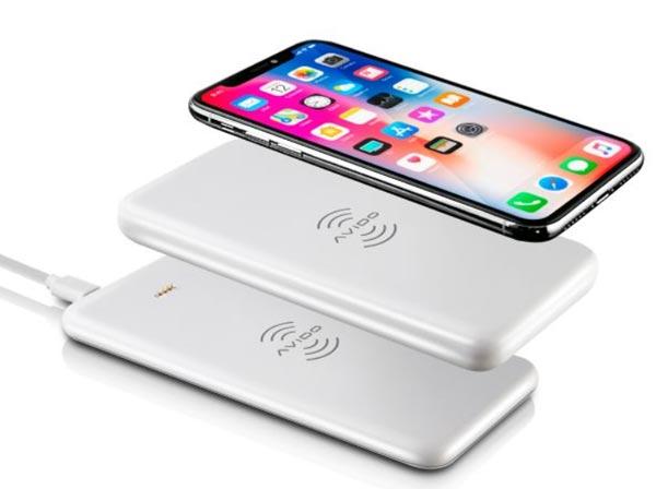 Avido WiBA: Wireless Aufladestation lädt Smartphone und Powerbank auf