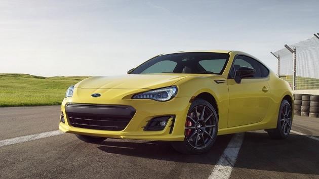 スバル、イエローが特徴的な「BRZ」の限定モデルを米国で発表
