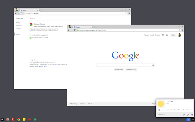 Google traerá la funcionalidad de Chrome OS a Windows 7