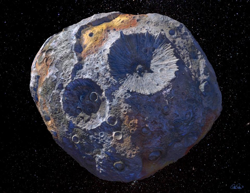 NASA Plans Mission to Asteroid Worth $10000 quadrillion worth of Minerals