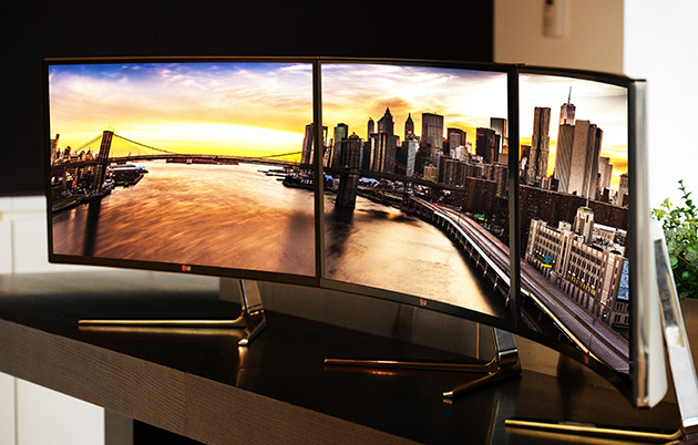 LG's new curved device is a 34-inch ultrawide display
