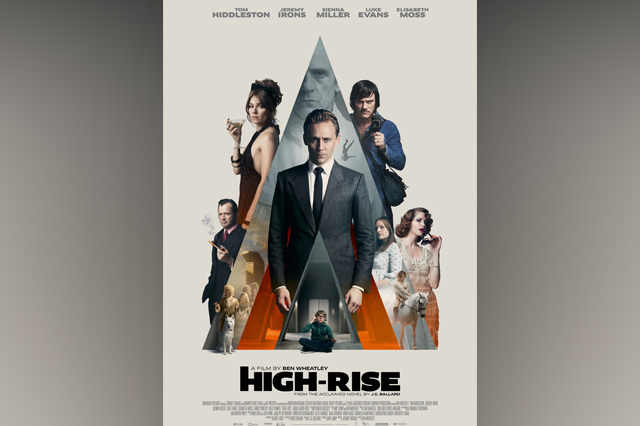 Poster for new film High-Rise