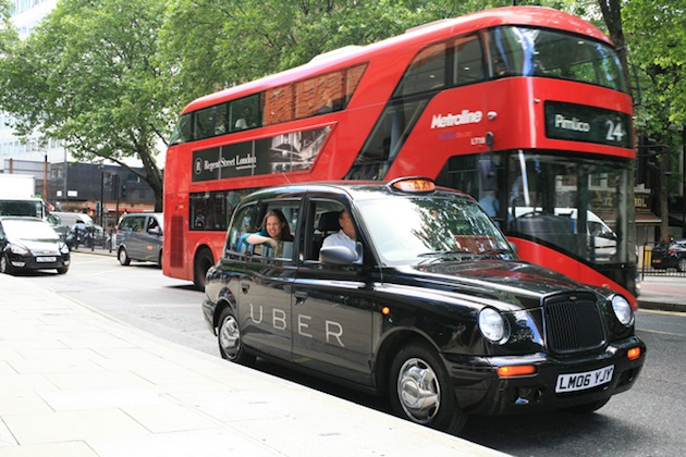 Uber London Black Cab