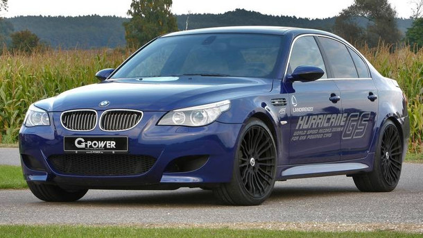 G Power BMW M5 Hurricane GS GLP