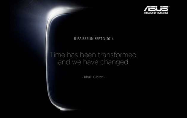 ASUS teases smartwatch for September 3rd event