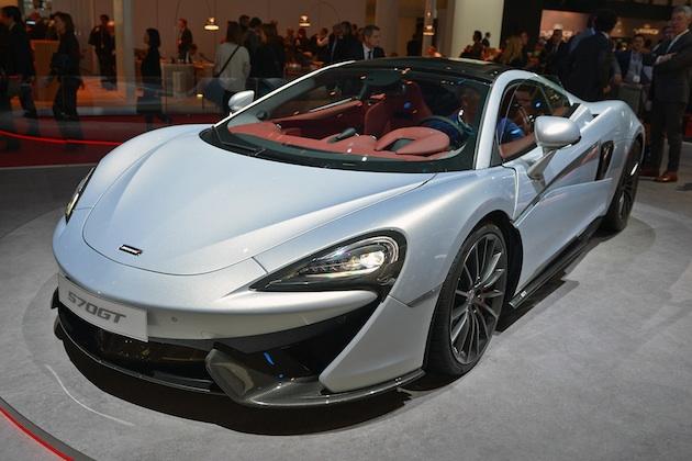 【ジュネーブ・モーターショー】マクラーレン、快適性と実用性を高めた「570GT」を発表(ビデオ付)