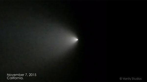 カリフォルニア州で複数のUFO目撃談か!光る謎の物体がネット上でも話題に【動画】