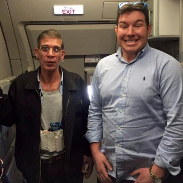 ​Briton takes selfie with Egyptair plane hijacker