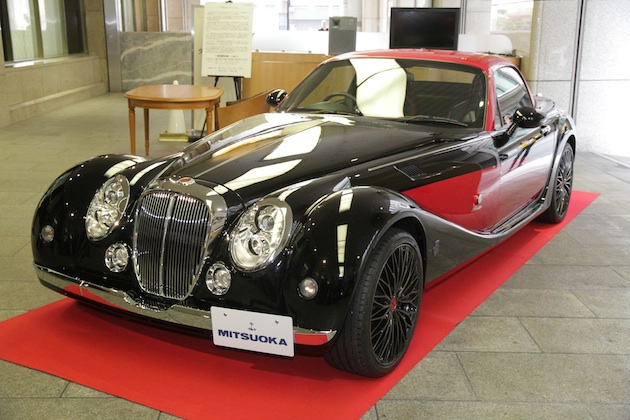 光岡自動車、日本古来の「武の美」をテーマにした特別仕様車「Himiko 乱<RAN>」を発表! わずか4台の限定生産