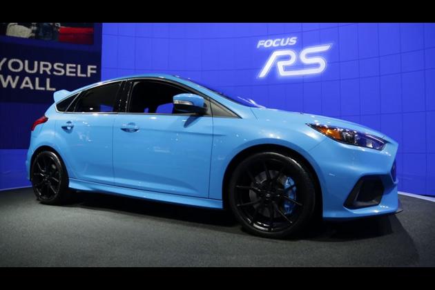 【ビデオ】NY国際オートショーで見た新型フォード「フォーカス RS」