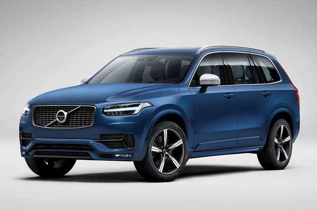 Volvo XC90 R-Design adds a dash of sport