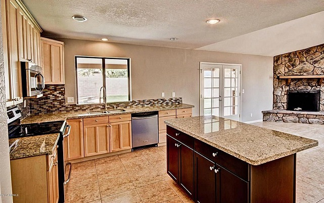 Mesa Arizona home kitchen