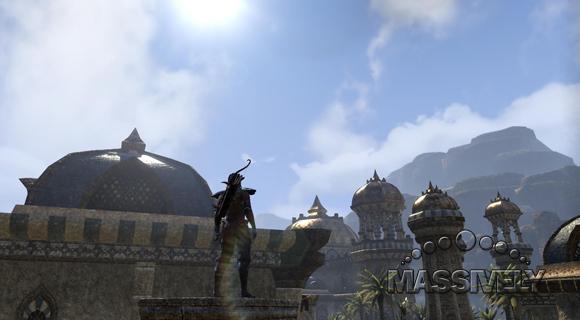 Elder Scrolls Online - Desert spires