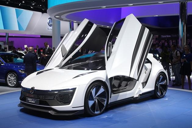 【フランクフルトモーターショー2015】クリーンで楽しいPHVスポーツカー、VW「ゴルフ GTE スポーツ コンセプト」