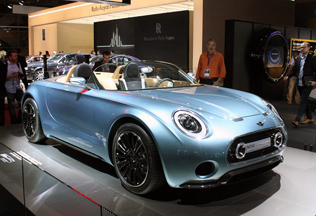 Mini Superleggera Vision Concept live at 2014 Paris Motor Show