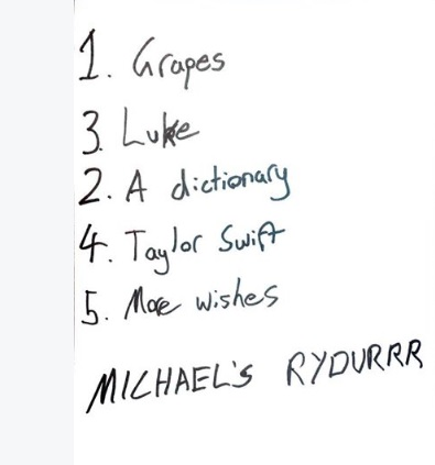 Michael Clifford's rider