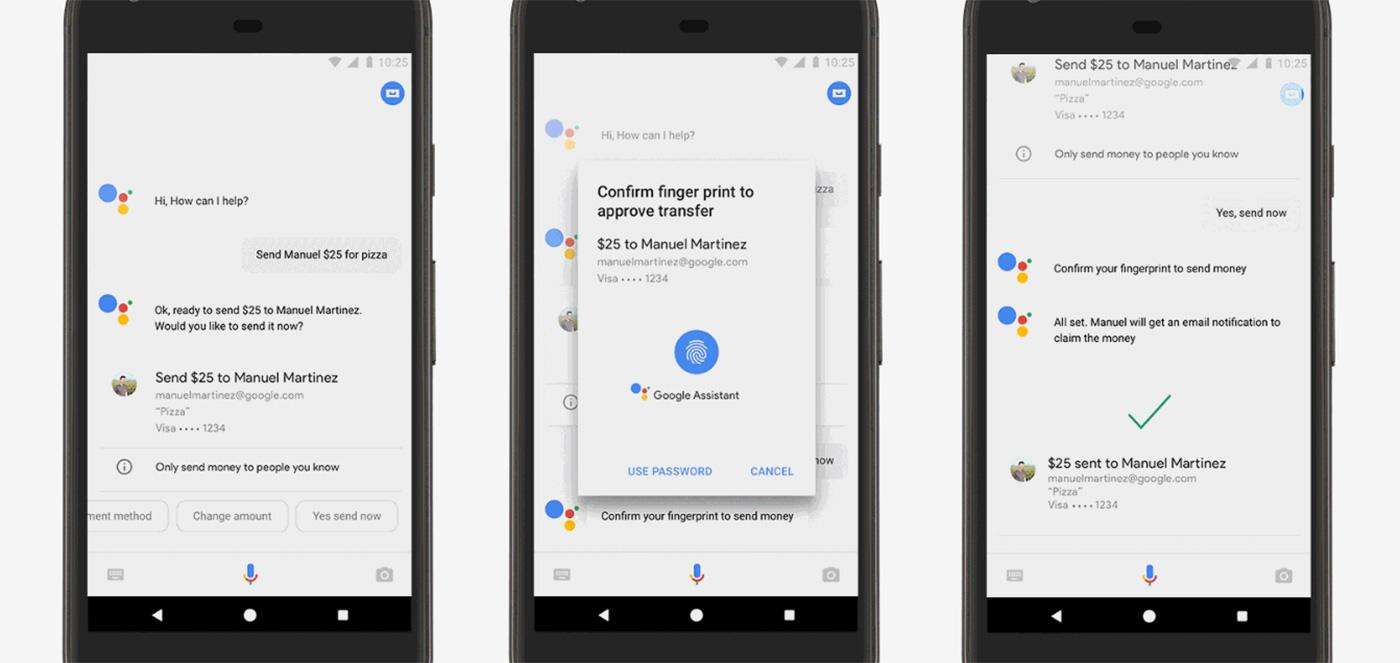 Prepárate para pagar a tus amigos al son de 'Ok, Google'