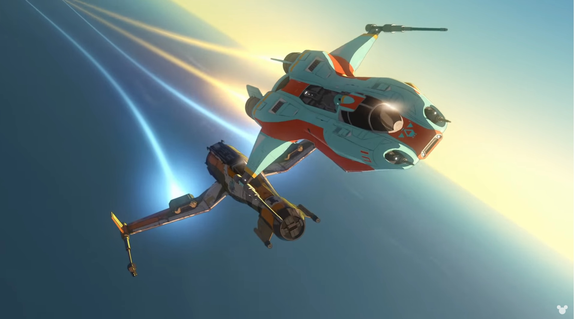 photo image 'Star Wars Resistance' trailer shows off its anime style