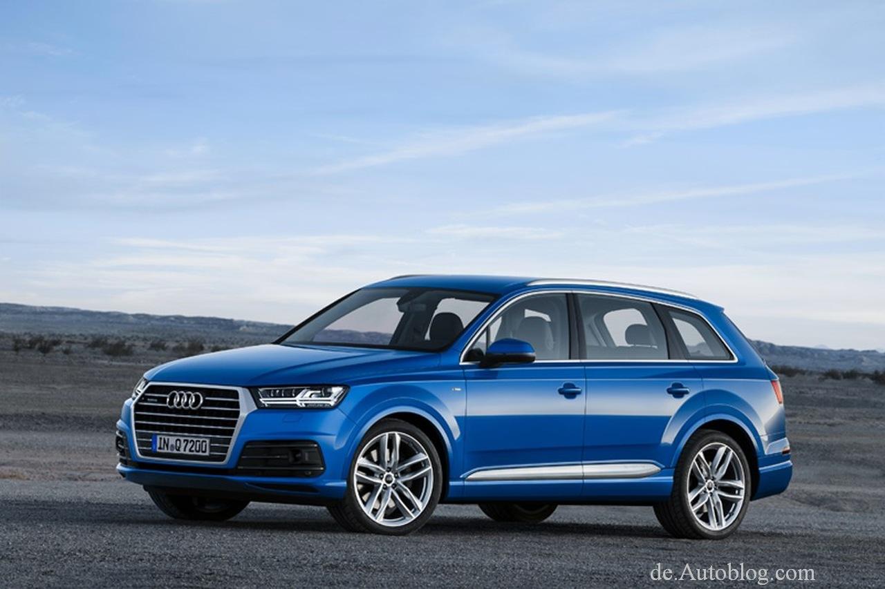 Durchgesickert. Erste offizielle Bilder vom neuen Audi Q7